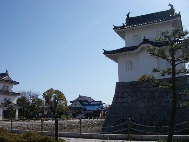 赤穂城♪歴史ある城下町です♪