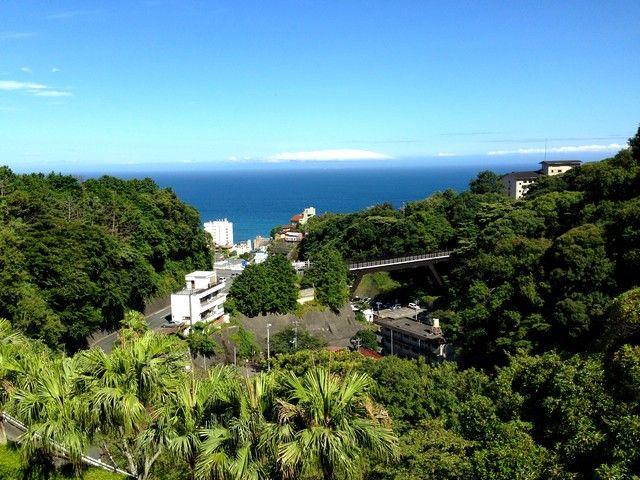 高台から望む景色は最高!!