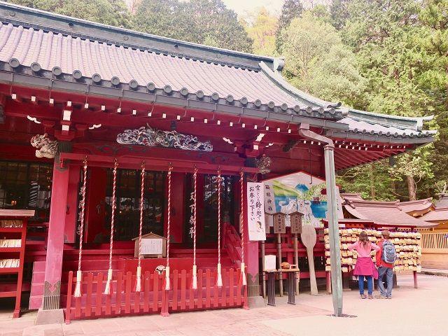 パワースポットで人気の箱根神社も近くにあります!