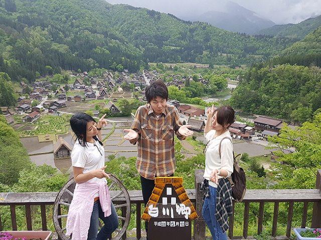 岐阜県は観光スポットもたくさんあります!!