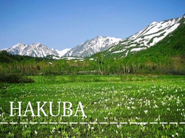 季節によって雰囲気が変わる白馬!夏は涼しく冬は一面雪景色〜!