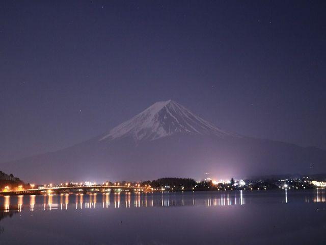 富士五湖の一つ山中湖でのお仕事です!