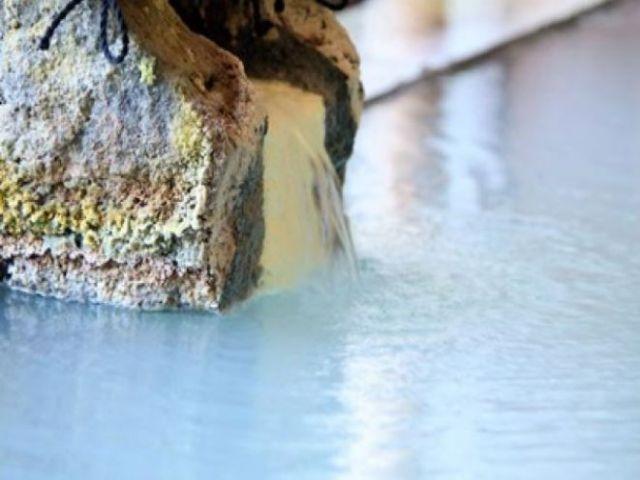 乳白色の温泉です!美人の湯と言われてます♪