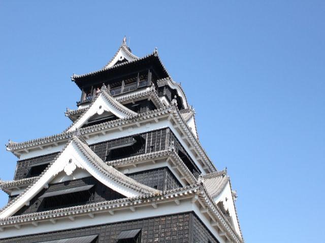 休日は熊本観光!