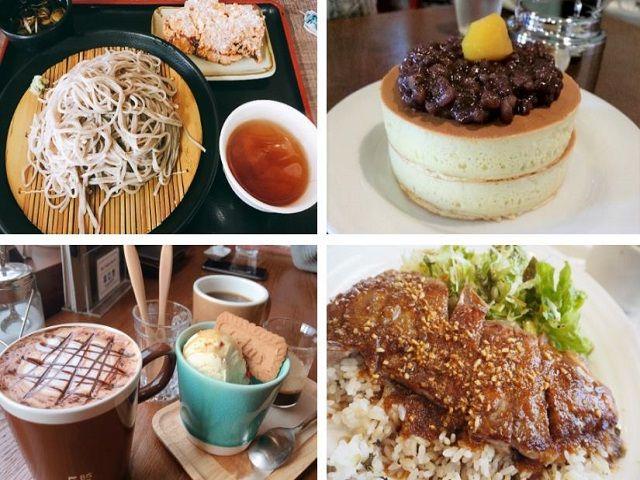 長野県でしか味わえない美味しいご飯を食べに行こう〜!! 休日はカフェでのんびりもあり〜☆