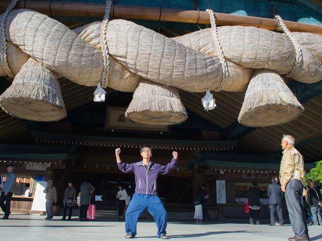 縁結びの神様・出雲大社☆スタッフみんなに島根でステキな出会いにめぐり合えますように(^^)
