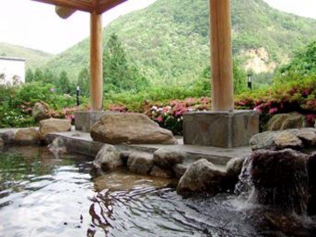 温泉も毎日入れますよ!