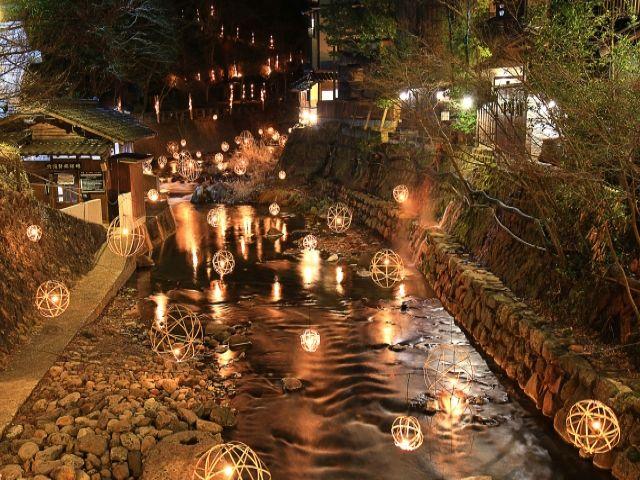 情緒漂う黒川温泉街!ゆったりとした時間を体験できます☆