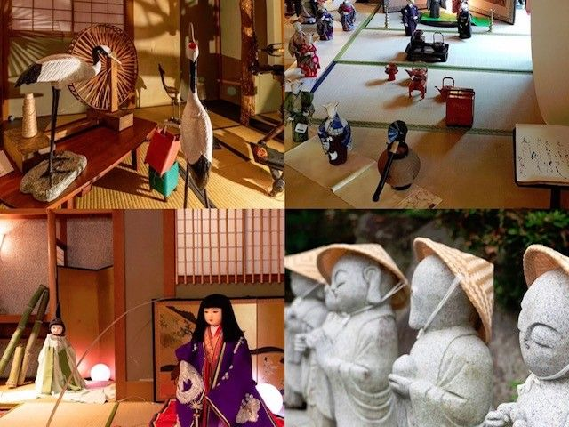 館内もおとぎ話の鶴の恩返しやかぐや姫などをイメージした装飾がされてます★