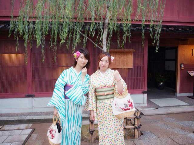 古都に来たらまずは衣装チェンジ(*^^*)