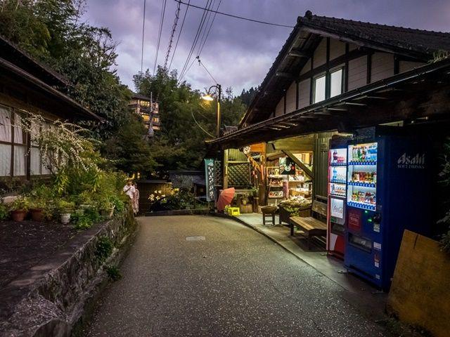 雰囲気のある黒川温泉で住み込みバイト