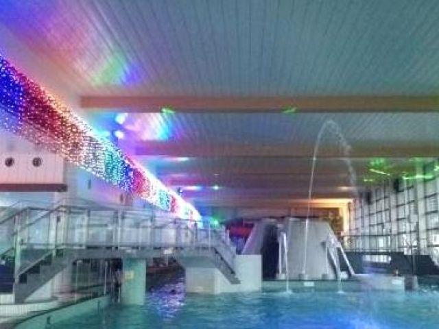 大型スパ・温泉施設が併設した施設!