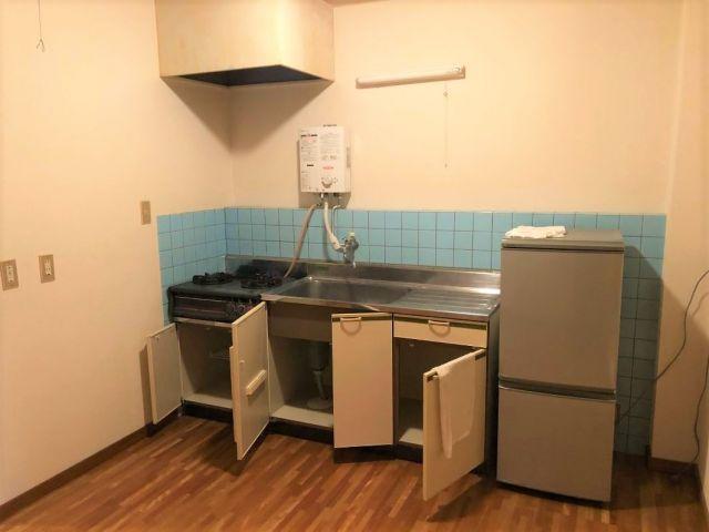 節約したい方!キッチン、冷蔵庫もあるので自炊できますよ〜!