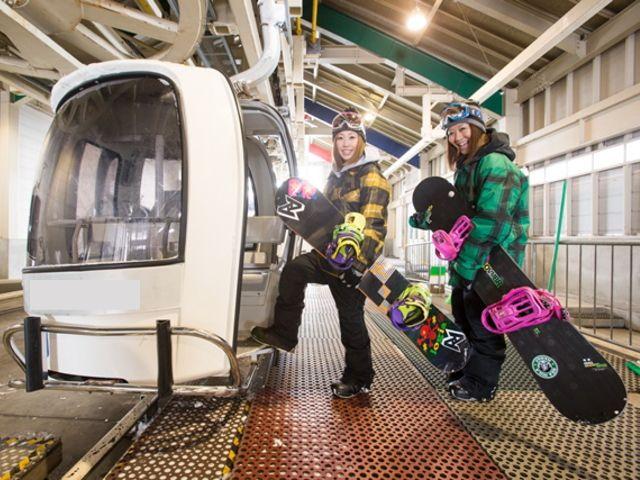 ≪福島県裏磐梯!≫雪質最高☆降雪に恵まれたゲレンデはパウダー天国!東北屈指のスキー場!