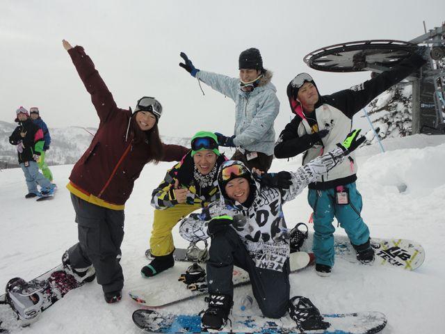 みんなでスキー場を楽しんじゃお☆