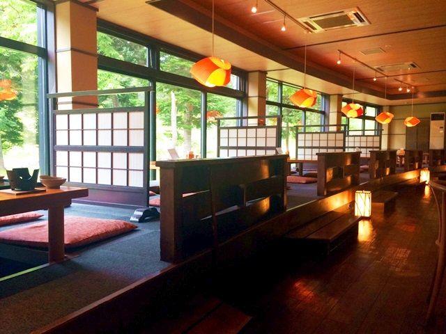 館内の雰囲気もオシャレ( ・´ω`・ )