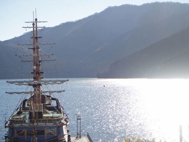 ★休日に海賊船に乗ることもできるエリアなんです★