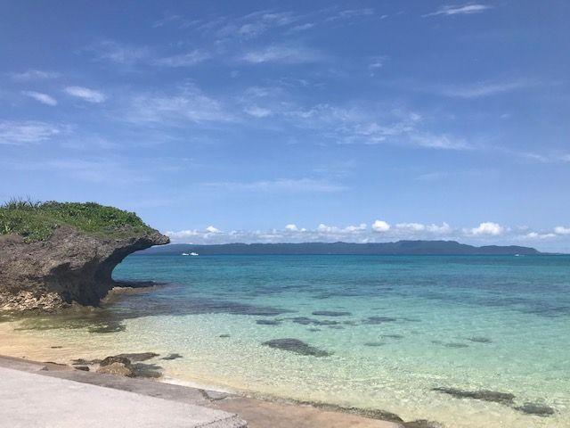 """黒島には綺麗なビーチがたくさんあります♪写真は""""西の浜"""""""