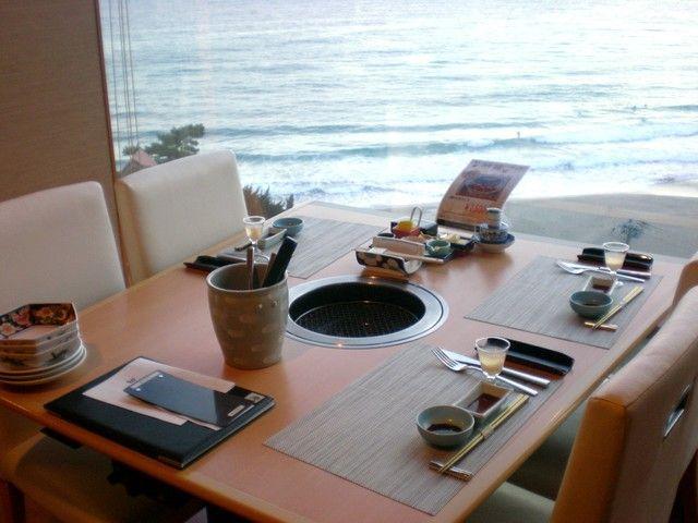 ★職場風景★海の見えるダイニング♪♪