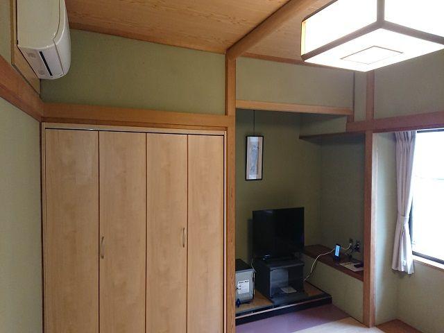 寮は館内の部屋でwi-fiも繋がってます!
