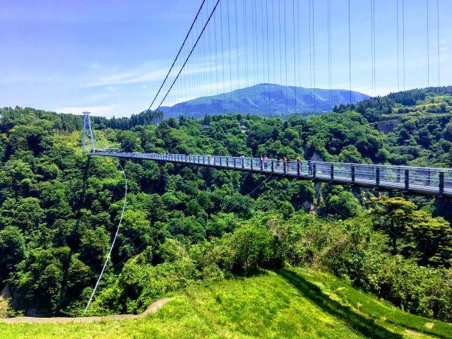 観光名所「夢大吊橋」!夫婦滝も見れて絶景が楽しめますよ☆