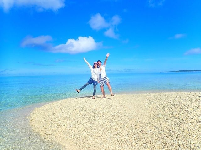 キレイな砂浜でインスタ映え★プライベートも充実