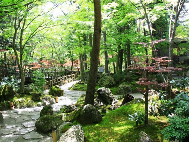 ホテルの日本庭園は四季の移ろいを肌で感じる見事な眺望が魅力☆休日は散策しながら一休み♪