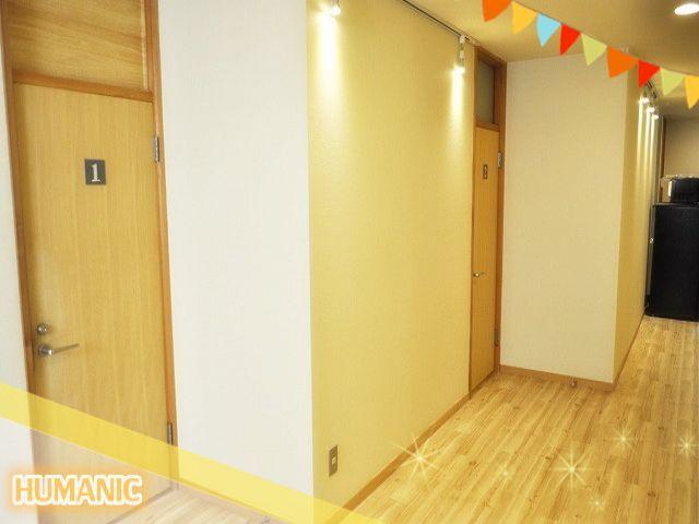 寮はとても清潔館のある個室寮☆生活環境は申し分ナシです(^_-)-☆