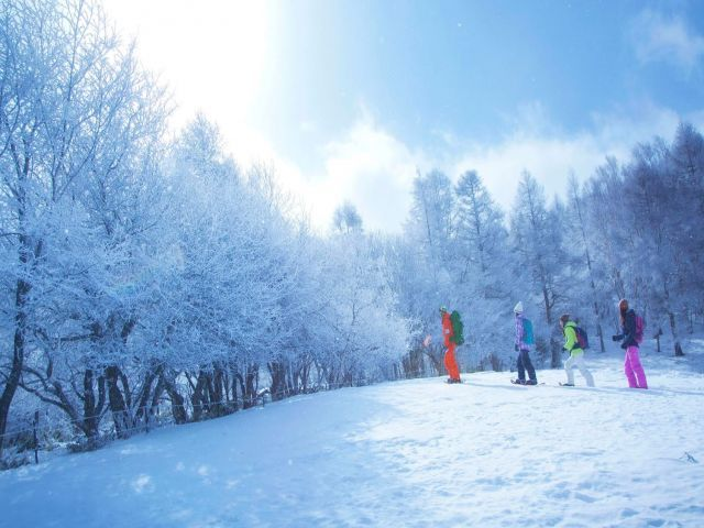 スキー場からは富士山も見えるんです☆特別感がありますね(*^-^*)