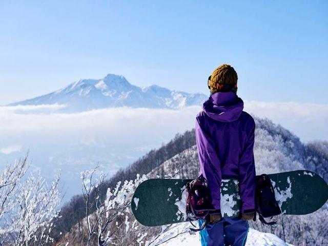標高が高いので最高の景色を見ながら、滑りましょう♪