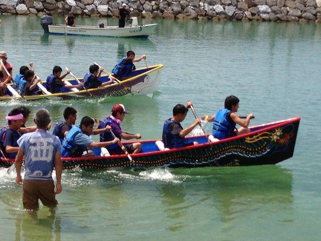 沖縄の伝統行事?!時期によっては、色んな行事に参加できます。それも離島の醍醐味♪