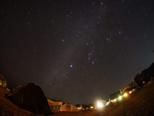 【環境】晴れた日の夜は都会では見ることのできない、輝く星空を眺めることもできます★