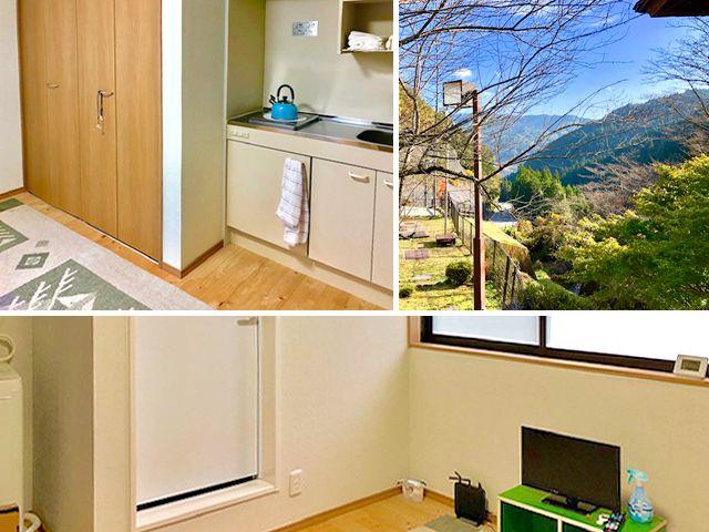 完全個室で設備も揃っている快適な寮です。