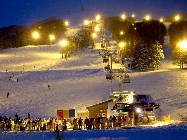 全37コース!全道一の巨大スキーリゾート!!