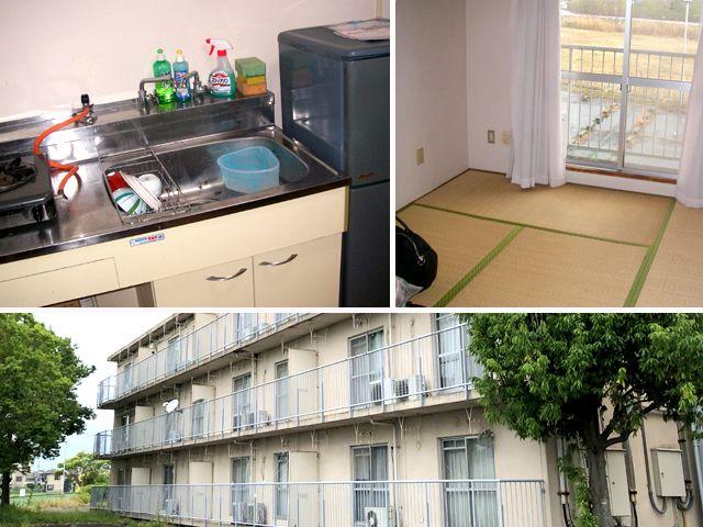 寮は閑静な住宅街にあり完全個室です。
