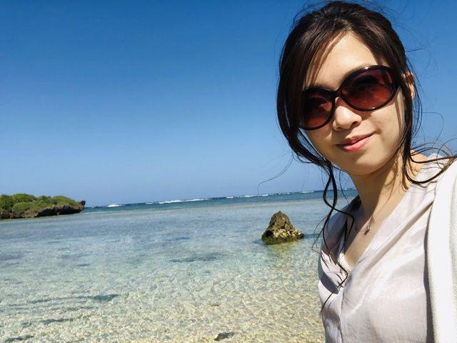 小浜ブルー最高っ♪勤務先徒歩圏内にビーチがあるなんて贅沢ですね!!