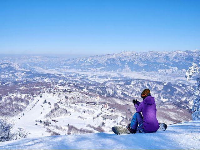 景色が絶景なので、滑る時も気持ちいいですよ\(^▽^)/
