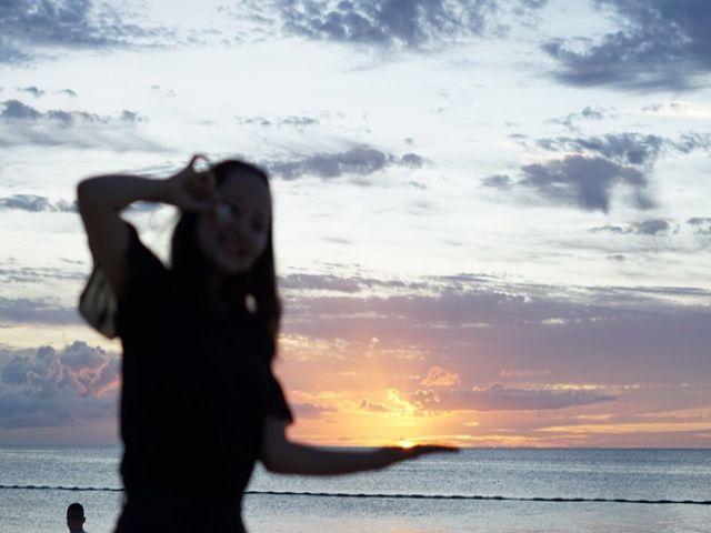 サンセットを眺めることも沖縄での楽しみの一つ★