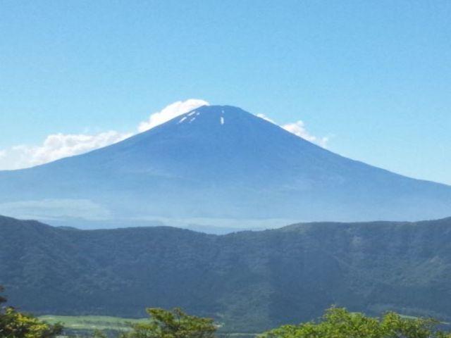 天気が良ければ富士山も臨めます(*^-^*)