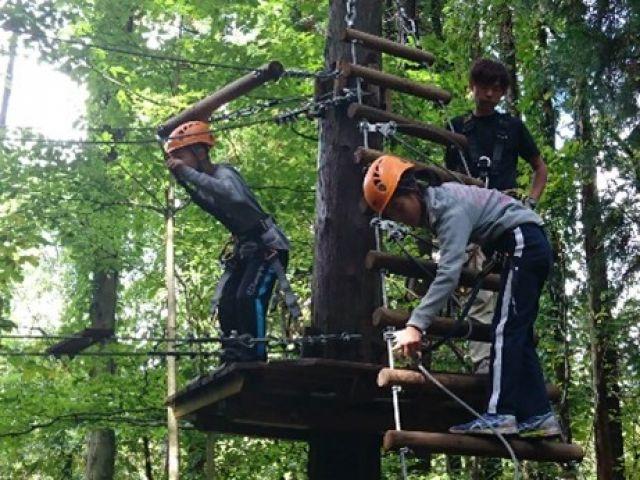 豊富な自然体験プログラムがあり、お子様に人気の施設です。