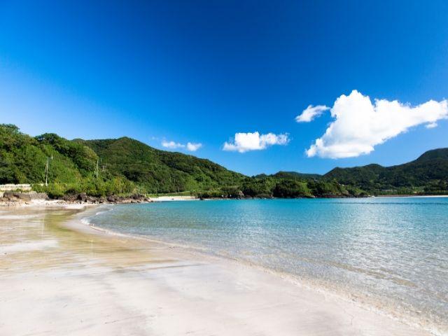 お休みの日にはビーチに行くのもいいですね!