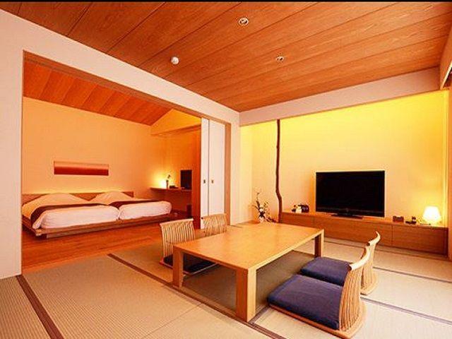 有名なデザイナーが手掛けた旅館です。